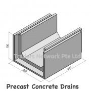 Precast concrete drains