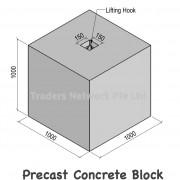 precast concret block